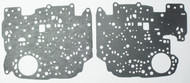 Valve Body Separator Plate Gasket Set, TH350 (1980-1986) Upper & Lower w/ Lock Up