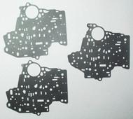 Valve Body Separator Plate Gasket Set, TH400 (1965-1990) 2-Upper & Lower