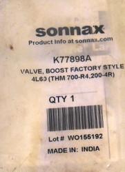 Factory Boost Valve, 700R4/4L60 (1982-1992) Sonnax