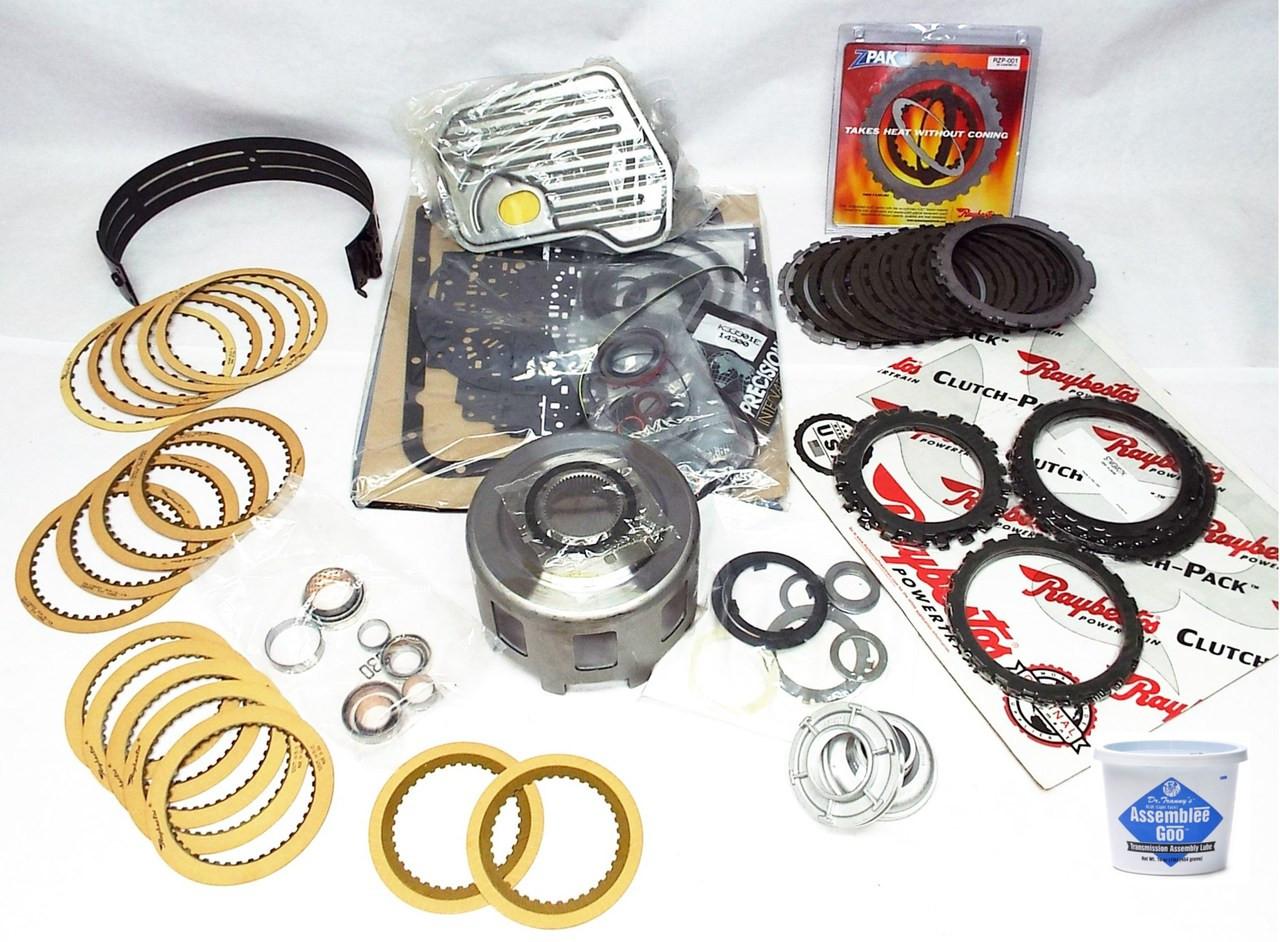 Gm Transmission Parts >> 4l60e Super Master Transmission Rebuild Kit 1993 1996