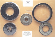 Molded Rubber Piston Kit, 6L80E/6L90E (2006-2013) OEM
