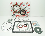 Banner Rebuild Kit w/ Gen2 Blue Plate Special Frictions, Powerglide (1962-1973) Teflon Ring Overhaul Kit