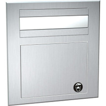 ASI (10-1001) Counter Mounted Paper Towel Dispenser & Waste Receptacle
