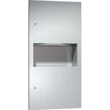 ASI (10-64623) Recessed Paper Towel Dispenser & Waste Receptacle