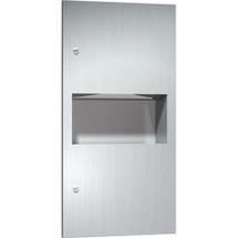 ASI (10-64623-9) Surface Mounted Paper Towel Dispenser & Waste Receptacle