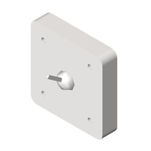 ASI (10-123) Square Clothes Hook - Front Mounting