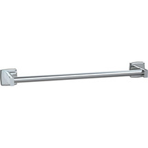 "ASI (10-7355-24S) Surface Mounted Round Towel Bar 24""-Satin"