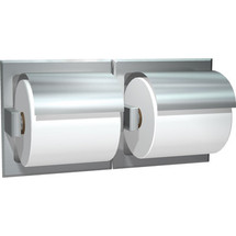 ASI (10-74022-SD) Recessed Mounted Dual Toilet Papper Holder-Satin, For Dry Wall Installation