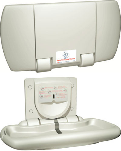 ASI (10-9012) Surface Mounted Baby Changing Station