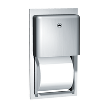 ASI (10-9031) Recessed Twin Roll Toilet Paper Dispenser