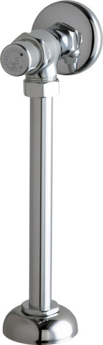 Chicago Faucets (732-CP) Angle Urinal Valve with Riser