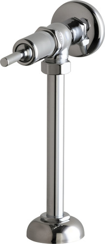 Chicago Faucets (732-OHCP) Angle Urinal Valve with Riser