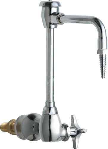 Chicago Faucets (934-WSCP) Single Inlet Cold Water Faucet with Vacuum Breaker
