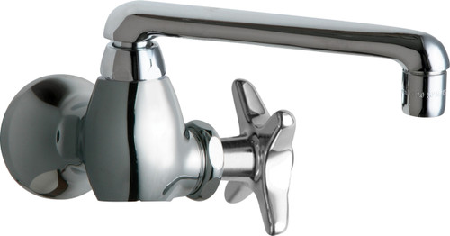 Chicago Faucets (932-CP) Single Inlet Cold Water Faucet