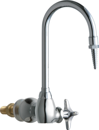 Chicago Faucets (933-WSCP) Single Inlet Cold Water Faucet