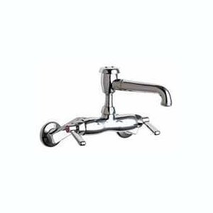 Chicago Faucets (886-RCP) Hot and Cold Water Sink Faucet
