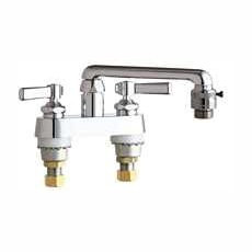 Chicago Faucets (891-E2E27CP) Hot and Cold Water Sink Faucet