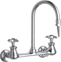 Chicago Faucets (942-CP) Hot and Cold Water Inlet Faucet