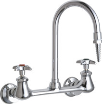 Chicago Faucets (942-WSLCP) Hot and Cold Water Inlet Faucet