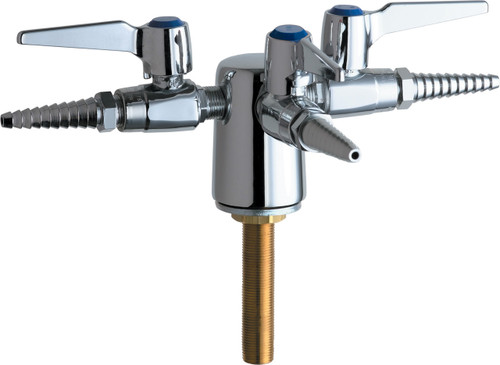 Chicago Faucets (983-WSV909AGVCP) Turret with Three Ball Valves