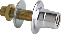 Chicago Faucets (986-CP) Single Service Wall Flange