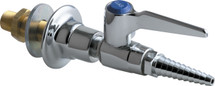 Chicago Faucets (986-WSV909AGVCP) Wall Flange with Single Ball Valve