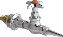 Chicago Faucets (986-WSV937CHAGVCP) Wall Flange with Needle Valve