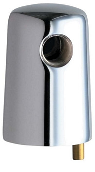 Chicago Faucets (980-VPCP) Vandal Proof Turret with One Side Outlet and Vandal Resistant Pin