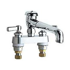 Chicago Faucets (895-L5VBXKCP) Hot and Cold Water Sink Faucet
