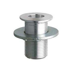 "Chicago Faucets (9901-NF) Aluminum Burette Rod Socket 3/4"" - Recessed Mount"