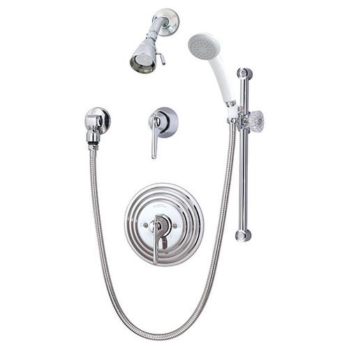 Symmons (C-96-500-B30-V-X) Temptrol Commercial Shower/Hand Shower System