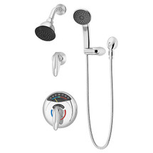 Symmons (1-1170VT-H401-V) Visu-Temp Shower/Hand Shower System