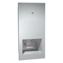 ASI (10-5002) Recessed Mounted Disposable Cartridge Soap Dispenser