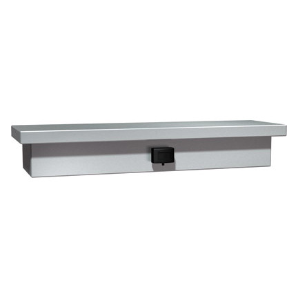 ASI (10-0318)  Soap Dispenser and Shelf (One Liquid Valve) - Surface Mounted