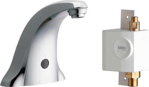 Chicago Faucets (116.956.AB.1) E-TronicÌÎÌ_Ì´åÇÌÎå«Ì´Ìâ 40 Traditional Sink Faucet with Dual Beam Infrared Sensor