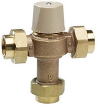 Chicago Faucets (122-ABNF) ECASTåÕå¢ Thermostatic Mixing Valve (for 1 to 8 fittings)
