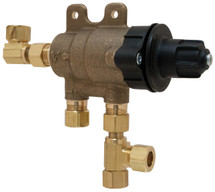 Chicago Faucets (131-CABNF) ECAST Thermostatic Mixing Valve