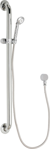 Chicago Faucets (154-ALCP) Wall Mounted Hand Spray