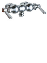 Chicago Faucets (65-ABCP) Hot and Cold Water Sink Faucet