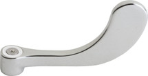 """Chicago Faucets (317-PLJKCP) Vandal Proof 4"""" Wristblade Handle, Sixteen-Point Tapered Broach"""