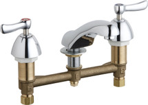 Chicago Faucets (404-XKABCP) Concealed Hot and Cold Water Sink Faucet