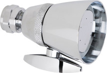 Chicago Faucets (622-CP) 2.5 GPM Max. Flow Rate @ 80 PSI Shower Head, 2.5 GPM Max. Flow Rate @ 80 PSI