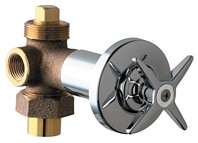 Chicago Faucets (769-PLABCP) Concealed Angle Valve