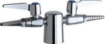 Chicago Faucets (981-909CAGCP) Turret with Two Ball Valves @ 180ÌÎÌ_Ì´åÇÌÎå«ÌÎå and Check