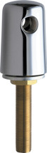 Chicago Faucets (981-WSCP) Turret with Two Side Outlets @ 180 Deg and Inlet Supply Shank