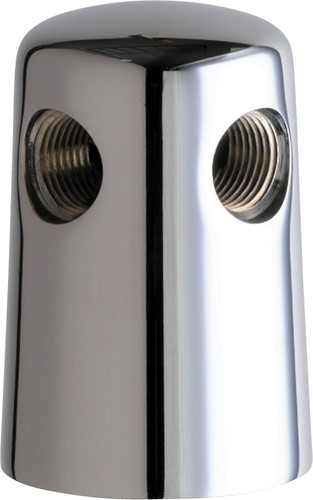 Chicago Faucets (982-CP) Turret with Two Side Outlets @ 90 Deg