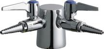 Chicago Faucets (982-DS909AGVCP) Turret with Two Ball Valves @ 90ÌÎÌ_Ì´åÇÌÎå«Ì´ÌâÌÎÌ_Ì´åÇÌÎå«ÌÎå, with Two Inlet Supplies