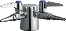 Chicago Faucets (982-DSVR909CAGCP) Turret with Two Ball Valves @ 90ÌÎÌ_Ì´åÇÌÎå«ÌÎå, Two Inlet Supplies and Check