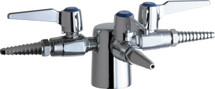 Chicago Faucets (983-909AGVCP) Turret with Three Ball Valves