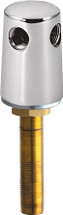 Chicago Faucets (983-WSCP) Turret with Three Side Outlets @ and Inlet Supply Shank